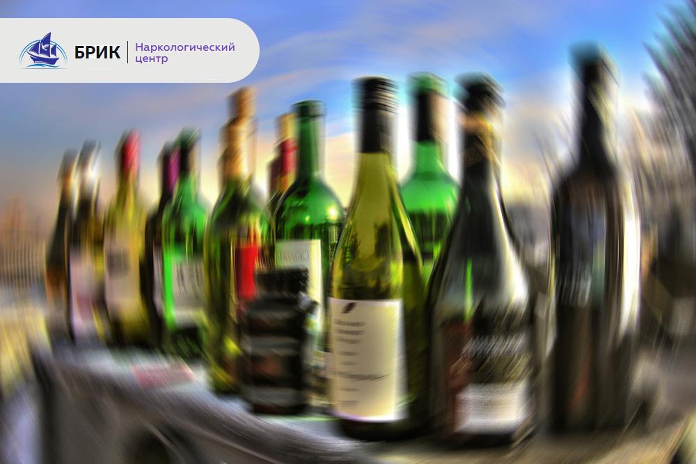 отравлении алкоголем